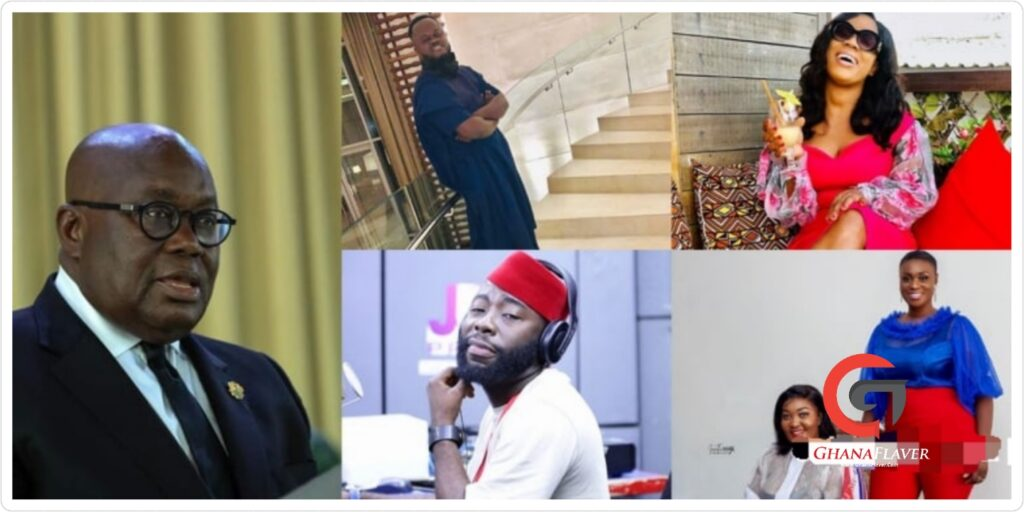 These Celebrities Have Endorsed Prez Akuffo Addo For 4 More Years » NobAfrica