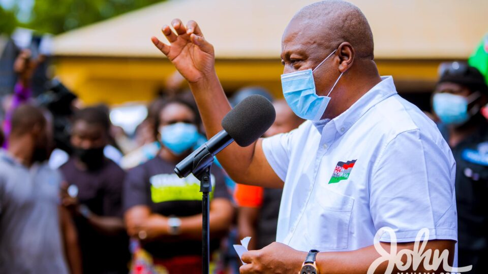 Akufo-Addo raised expectations but delivered little – John Mahama » NobAfrica