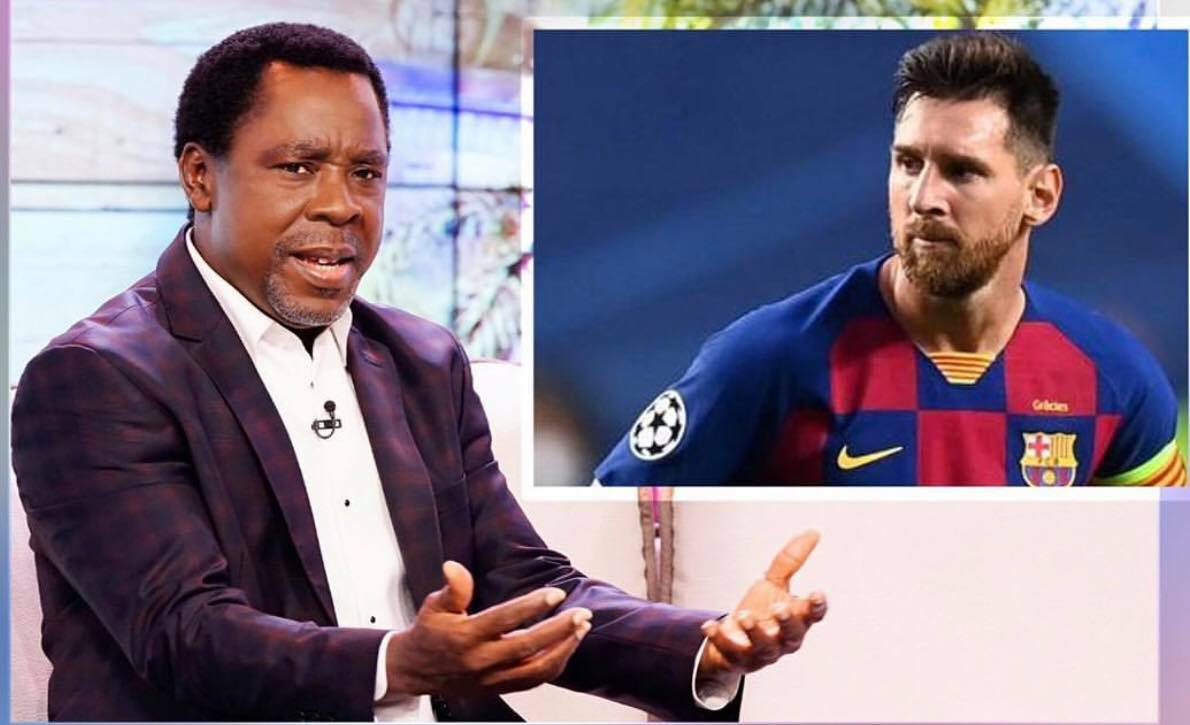 Prophet Tb Joshua And Messi 1