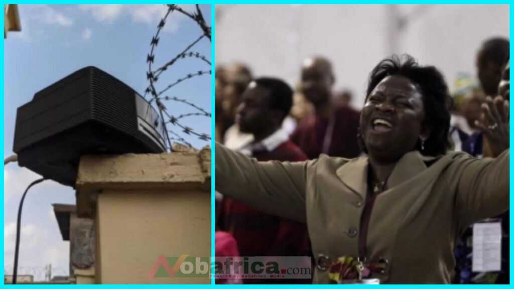Man fixes sound system & plays Cardi B's WAP song to challenge nearby church that keeps disturbing him with their 'noise' | NobAfrica