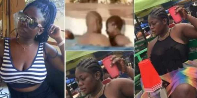 Video of Slay Queen being 'chopped' in a swimming pool hits online | NobAfrica