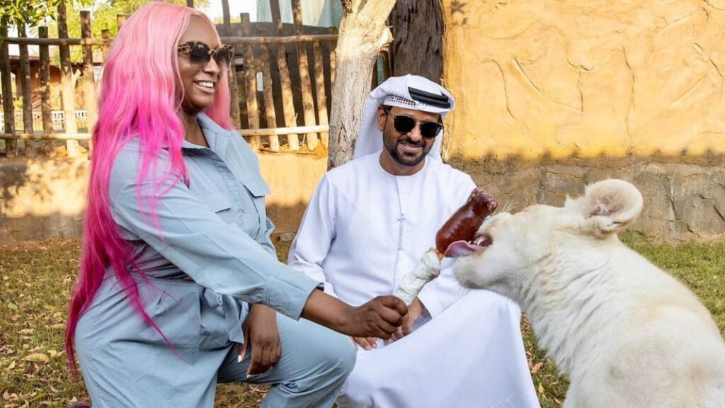 Money sweet – DJ Cuppy Release adorable photo's from her Luxury vacation in Dubai.   NobAfrica