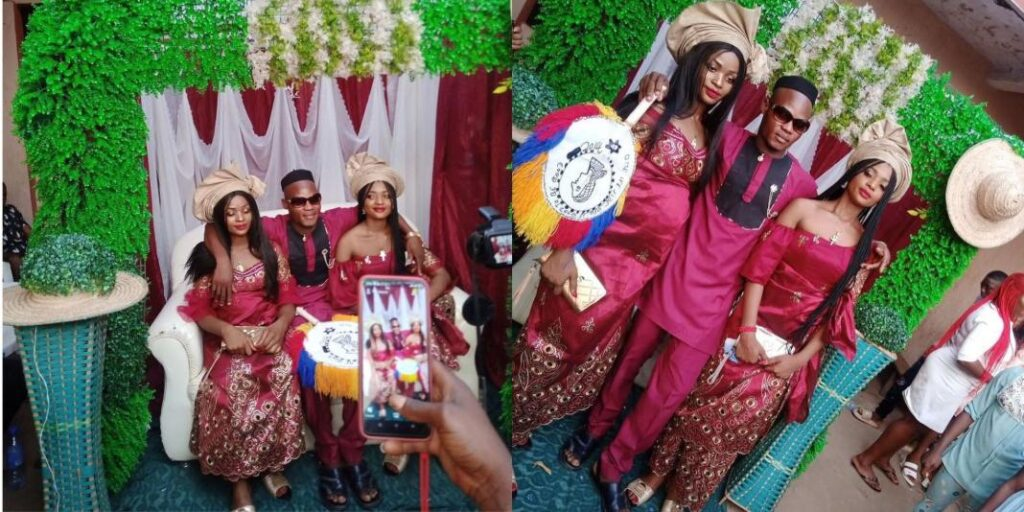 Man marries twin sisters because 'they can't live without each other' | NobAfrica